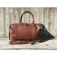 House Of Janic & Carlo Skinnbag 65X37x16 Cognac