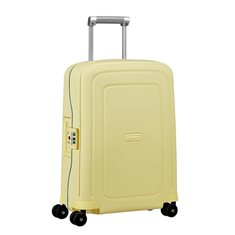 Samsonite Resväska S´Cure Spinner 34 L Gul Stripes