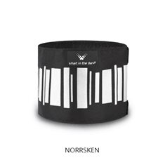 Smart In The Dark Reflex Smart In The Dark Armband Rak Norrsken Svart